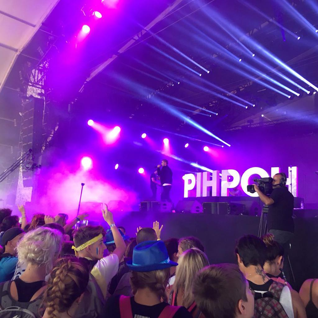 Pihpoh en concert